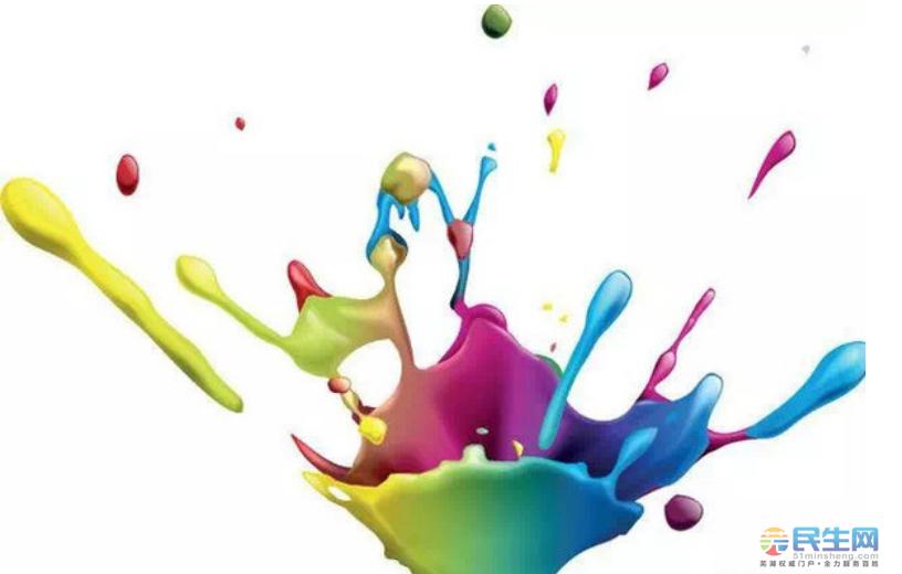 搅拌后,油漆质感浓厚,亮光漆色泽水白,晶莹透明;亚光漆呈半透明轻微