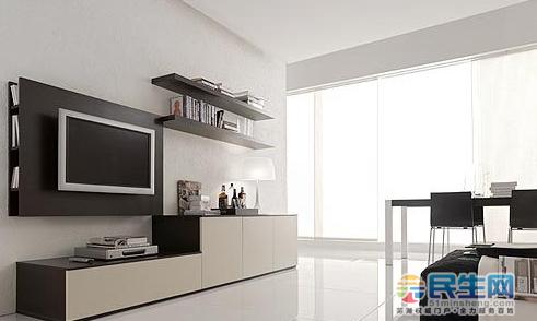 沙发,电视柜高度距离,2016年最新款客厅电视柜高度,悬挂电视柜高度