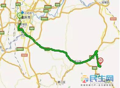 适合季节:春,夏,秋     自驾路线:主城——兰海高速——包茂高速