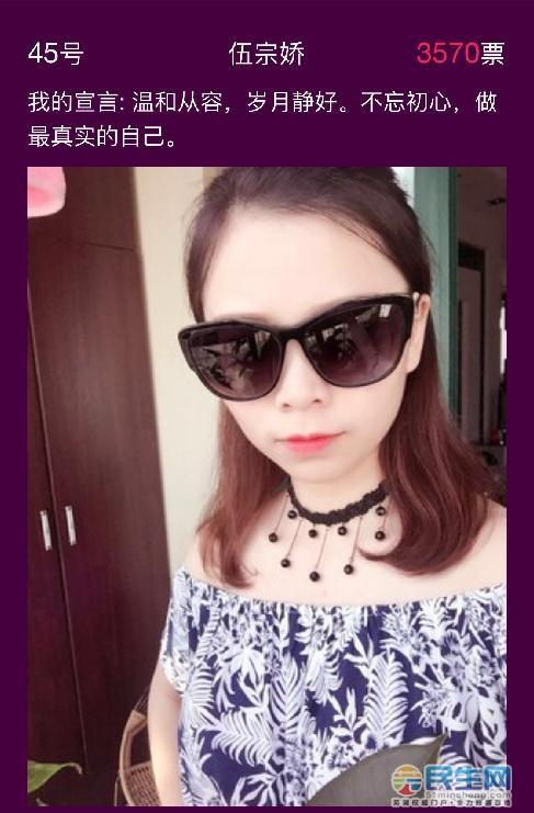 芜湖民生网app第1期封面女神评选收官